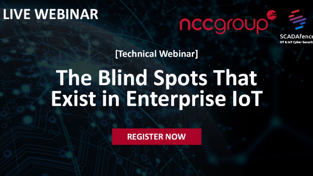 The Blind Spots That Exist In Enterprise IoT – With NCC Group