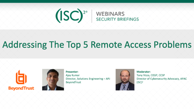 Addressing The Top 5 Remote Access Problems