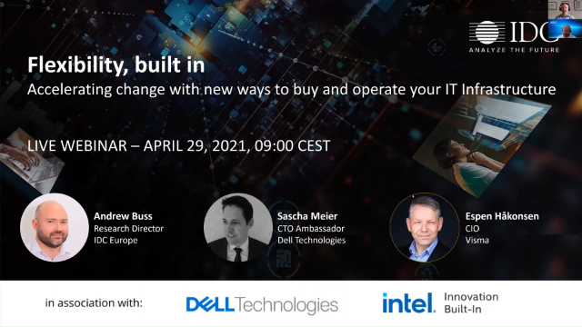 Accelerating change with new ways to buy and operate your IT Infrastructure