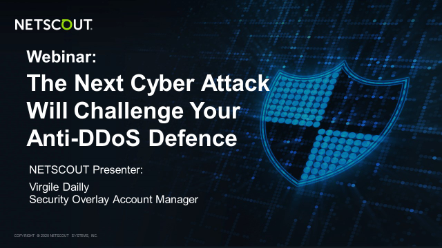 The next cyber attack will challenge your anti-DDoS defence