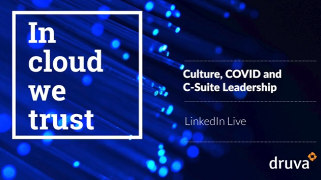 Culture, COVID and C-Suite Leadership