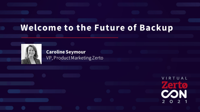 Welcome to the Future of Backup