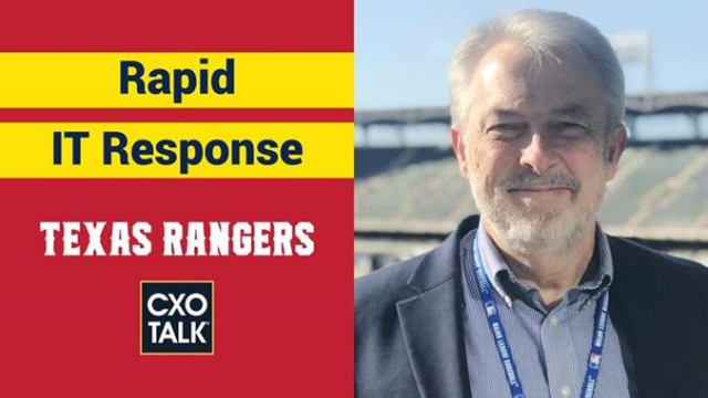 CIO Playbook: Pandemic IT Response at the Texas Rangers with Mitel (CXOTalk)