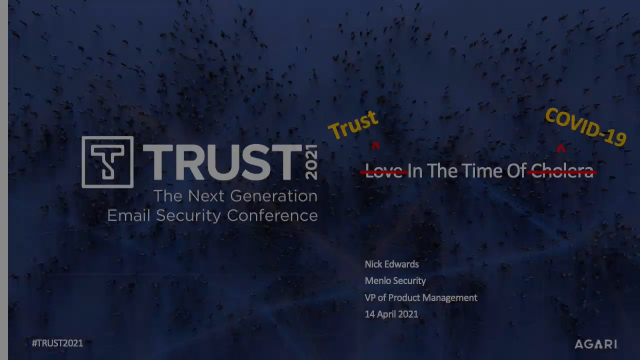 Trust in the Time of Covid-19