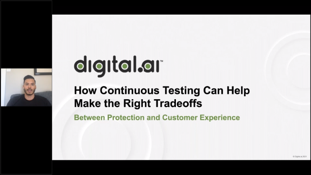 Continuous Testing: Making the Right Tradeoffs between  Security Guards and CX