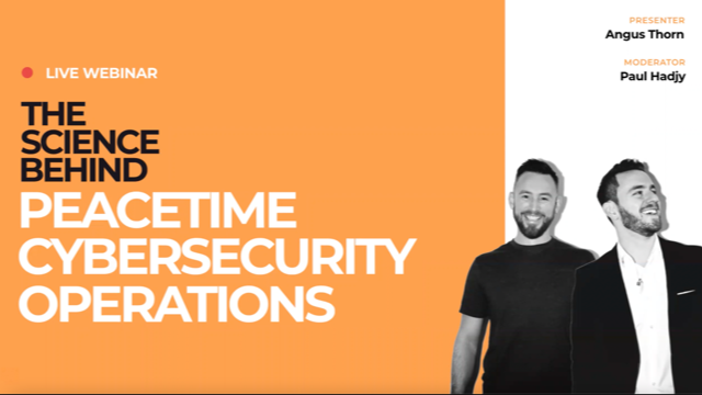 The Science Behind Peacetime Cybersecurity Operations