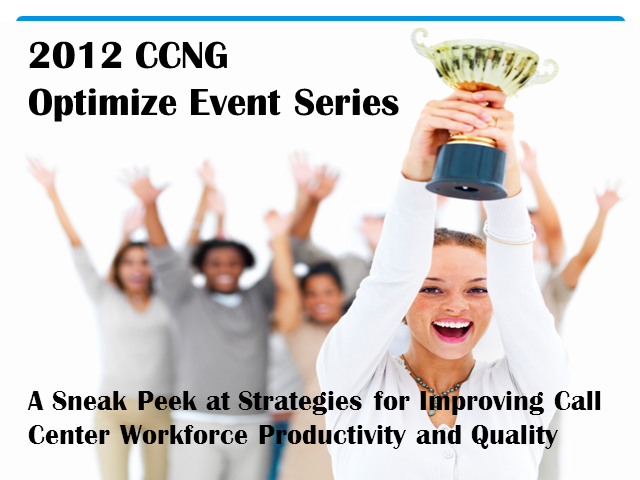 A Sneak Peek at Strategies for Optimizing Your Call Center Workforce