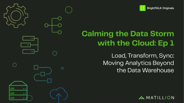 [Ep.1] Load, Transform, Sync: Moving Analytics Beyond the Data Warehouse