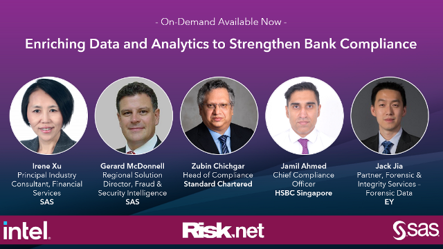 Enriching data and analytics to strengthen bank compliance