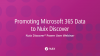 Promoting Microsoft 365 Data to Nuix Discover