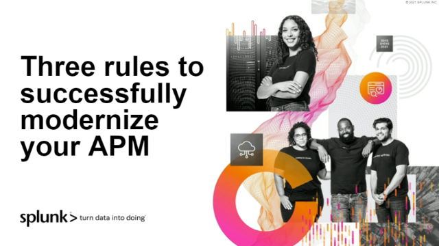 Three rules to successfully modernize your APM