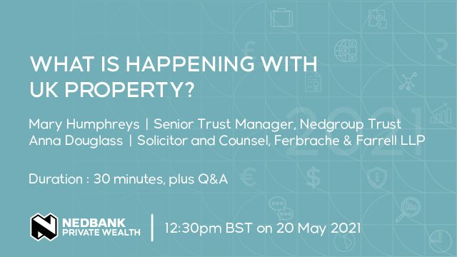 What is happening with UK property?
