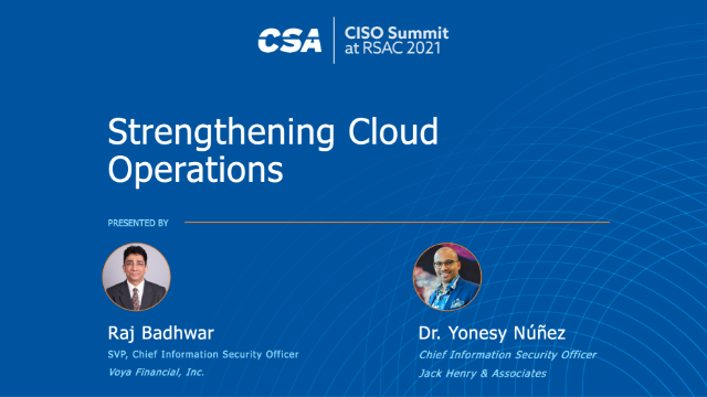 CSA CxO Trust: Strategies for the Cloud-Centric Enterprise