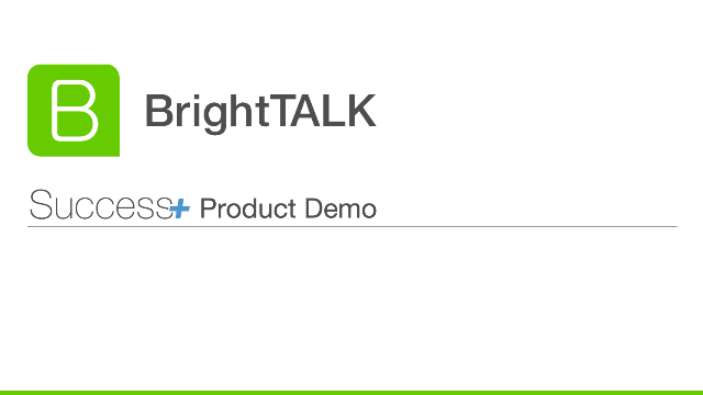 Elevate your webinar and virtual events strategy with BrightTALK