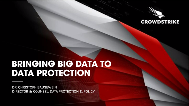 Bringing Big Data to Data Protection