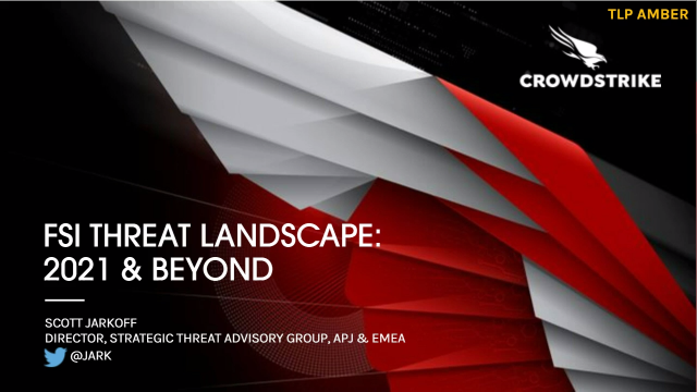 Financial Services Institutions Threat Landscape
