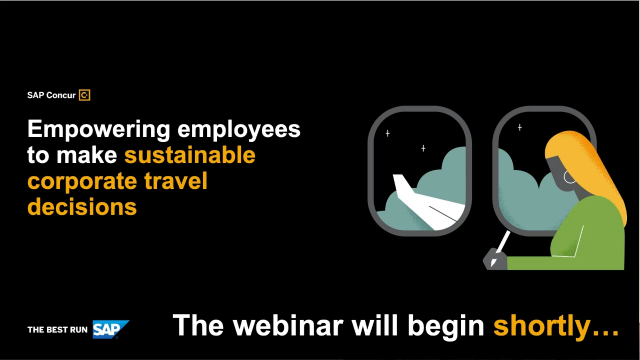Empowering employees to make sustainable corporate travel decisions