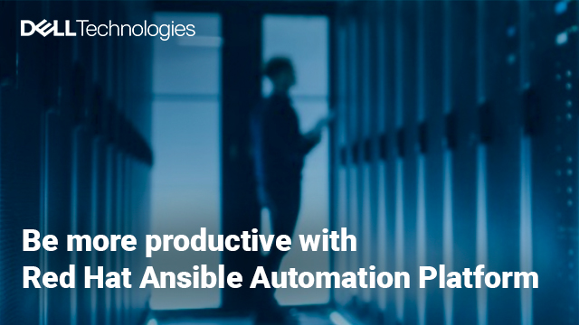 Be more productive with Red Hat Ansible Automation Platform