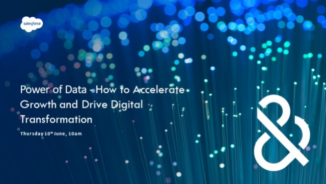 Power of Data – How to Accelerate Growth and Drive Digital Transformation