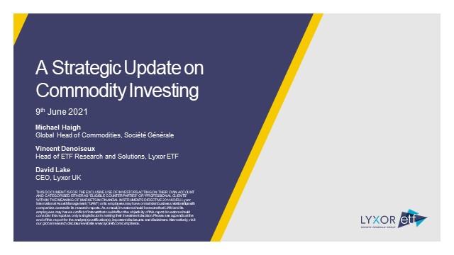 A Strategic Update on Commodity Investing