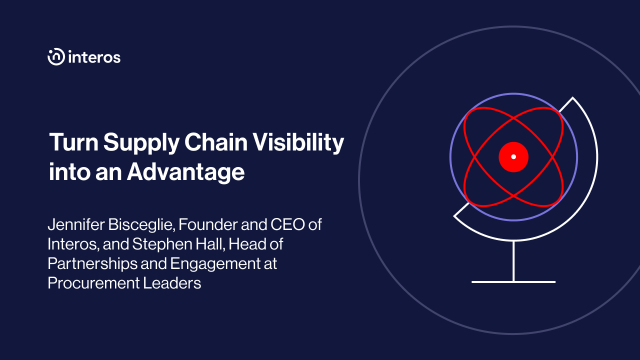 Turn Supply Chain Visibility into an Advantage
