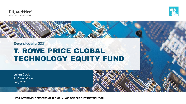 Quarterly update - T. Rowe Price Global Technology Equity Fund