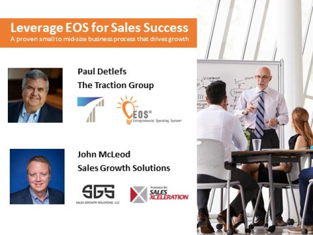 A proven process model for small to mid-size businesses that drive sales growth