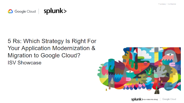 The 5R's: Strategy For Application Modernization & Migration to Google Cloud