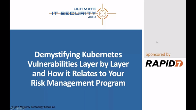 Demystifying Kubernetes Vulnerabilities & Their Relationship to Risk Management