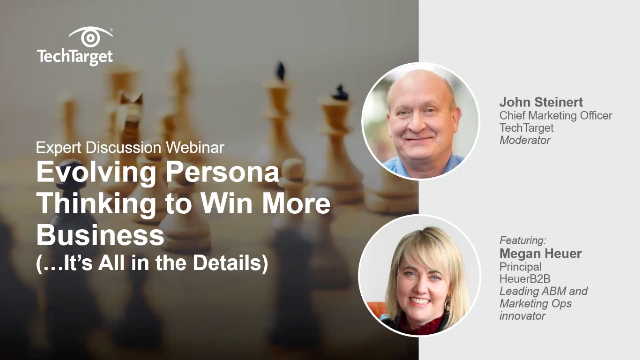 Evolving Persona Thinking to Win More Business