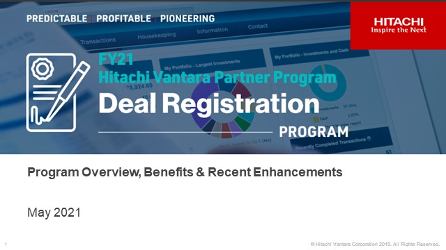 Deal Registration: A Must Have