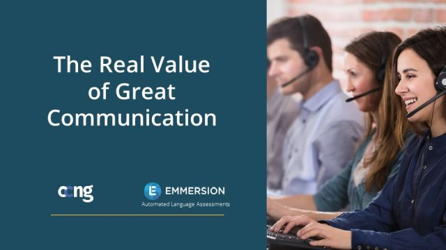 The Real Value of Great Communication