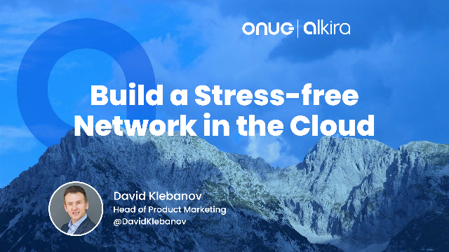 Build a Stress-free Network in the Cloud