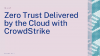Zero Trust Delivered by the Cloud with CrowdStrike