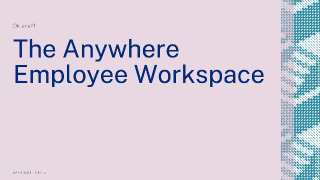 The Anywhere Employee Workspace