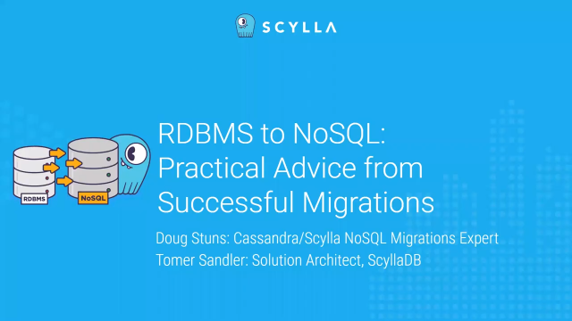 RDBMS to NoSQL: Practical Advice from Successful Migrations