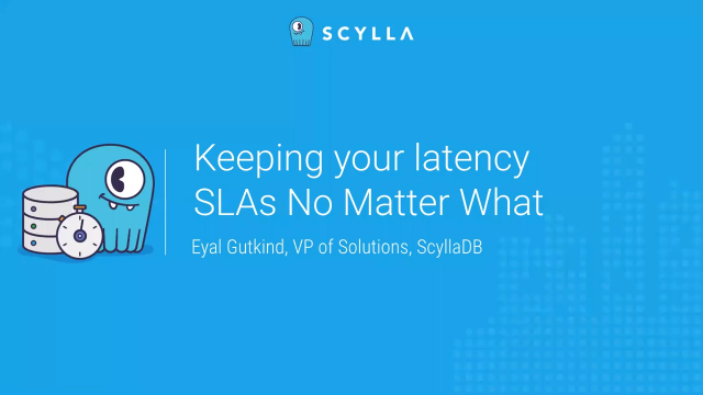 Keeping Your Latency SLAs No Matter What