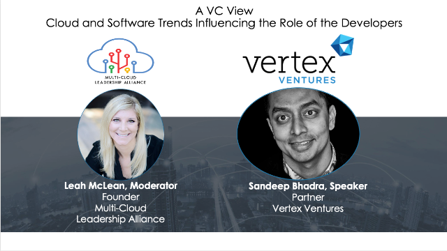 A VC View – Cloud and Software Trends Influencing the Role of the Developers