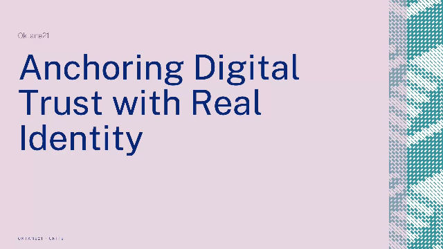 Anchoring Digital Trust with Real Identity