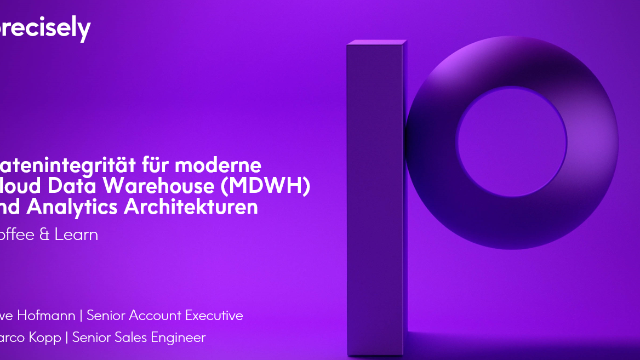 Datenintegrität für moderne Cloud Data Warehouse und Analytics Architekturen