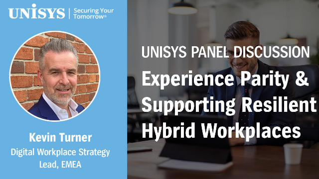 On Demand: Experience Parity & Supporting Resilient Hybrid Workplaces