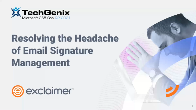 Resolving the Headache of Email Signature Management