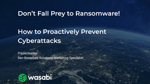 Don't Fall Prey to Ransomware! How to Proactively Prevent Cyberattacks