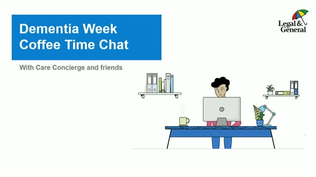 Care Concierge - Dementia Week Coffee Time Chat