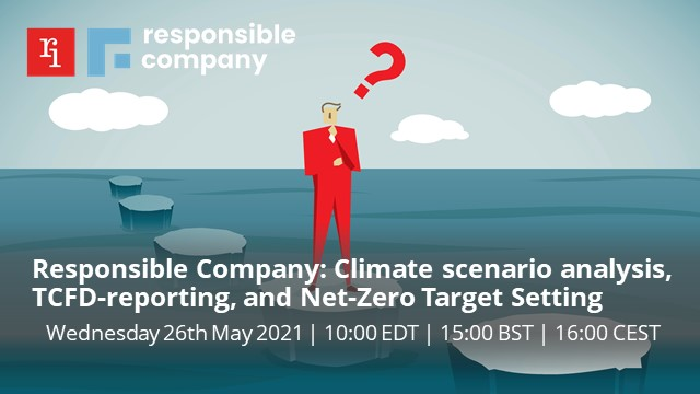 Climate scenario analysis, TCFD-reporting, and Net-Zero Target Setting