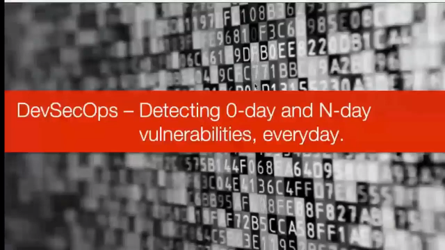 DevSecOps – Detecting 0-day and N-day Vulnerabilities, Everyday.