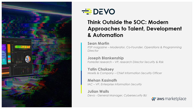 Think Outside the SOC: Modern Approaches to Talent, Development & Automation