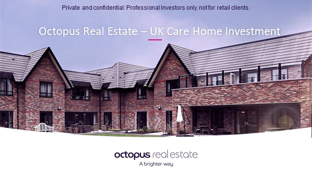 The Importance of Institutional Impact Investing: care homes as an illustration