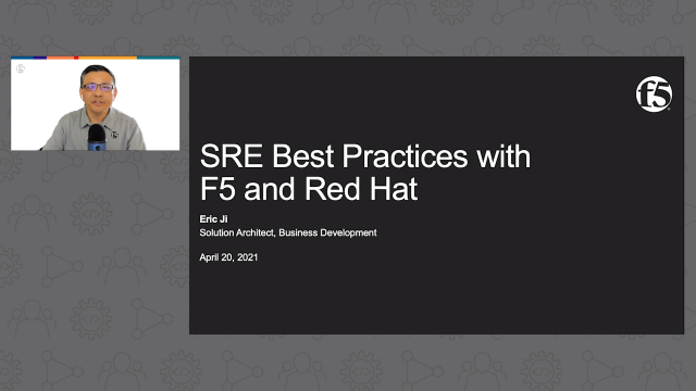 Site Resiliency Engineering Best Practices with F5 and Red Hat