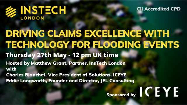 Driving Claims Excellence with Technology for Flooding Events